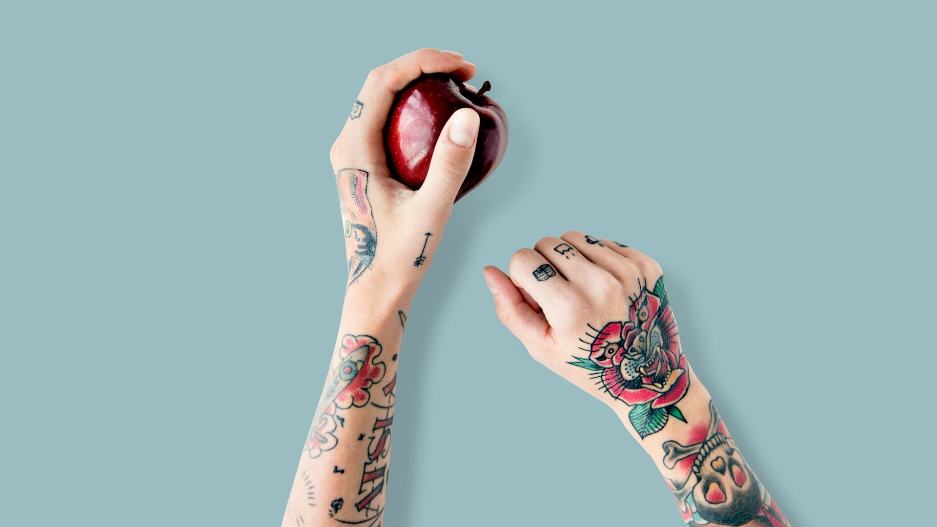 Weganizm a dziary | Pomysły na wegańskie tatuaże