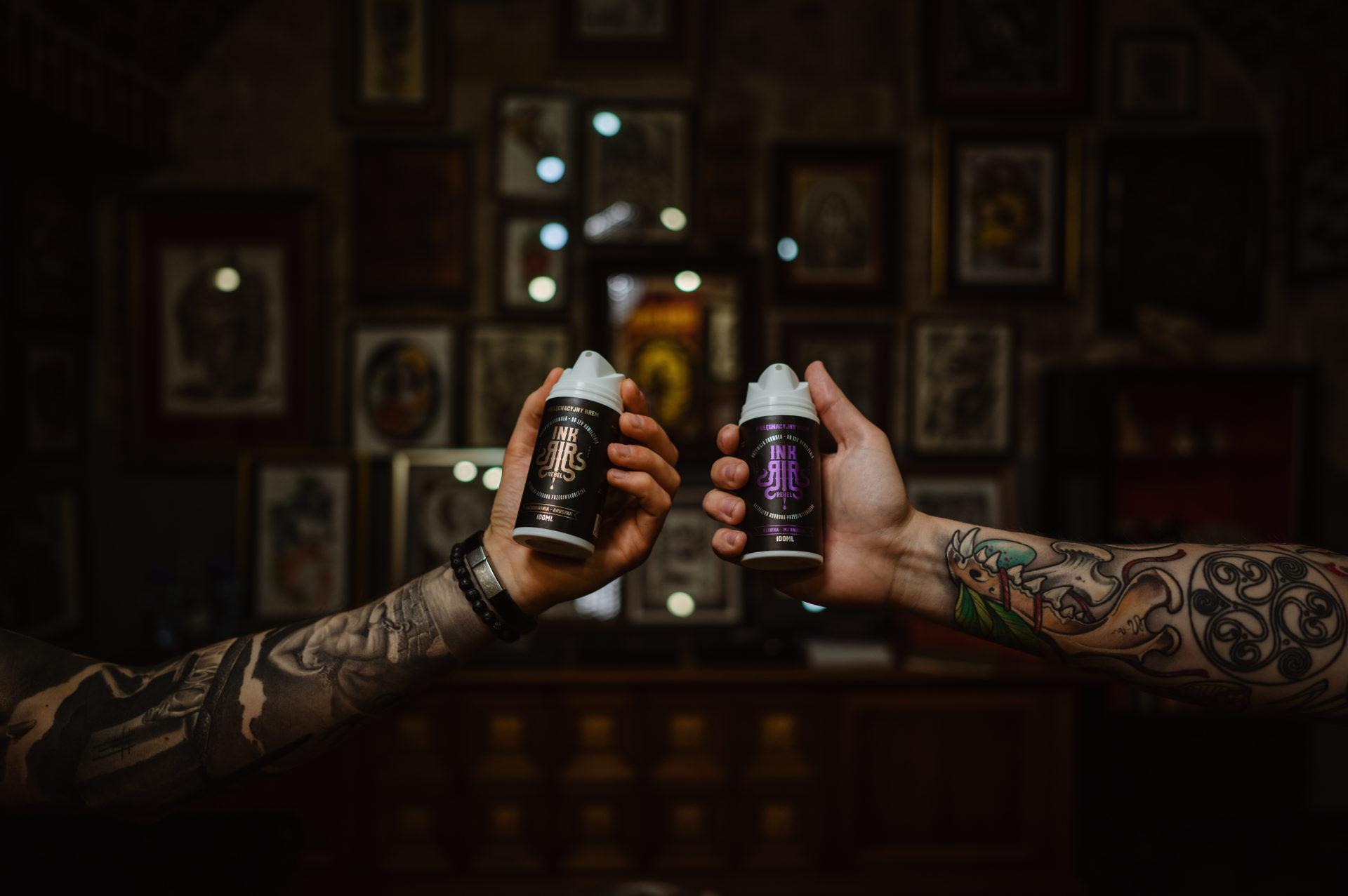 INKrebel – wyższy poziom pielęgnacji tatuażu