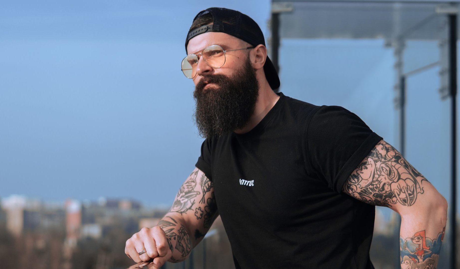 """""""Bearded, Inked and Awesome"""" czyli Krzysiek Blicharz"""
